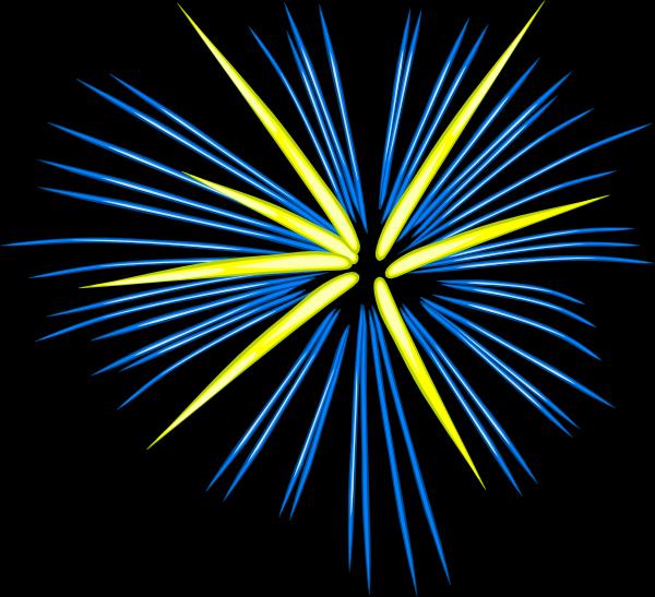 fireworks clipart gif. Blue Fireworks clip art