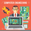 Computer Engineer Clipart Image