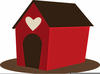 Free Clipart Of A Dog House Image