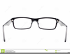 Free Clipart Eye Glasses Image