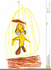 Childs Drawing Clipart Image
