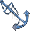 Anchor For A Boat Clipart Image Image
