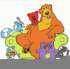 Bear Inthe Big Blue House Clipart Image