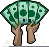 Free One Dollar Clipart Image