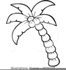 Beach Palm Tree Clipart Image