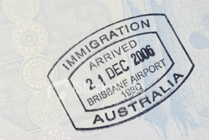 ist australian immigration arrival passport stamp free images at vector clip art. Black Bedroom Furniture Sets. Home Design Ideas