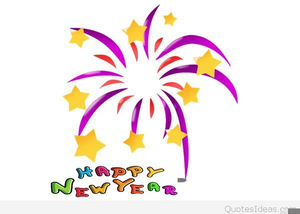 happy new year religious clipart image