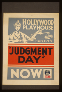 Elmer Rice S  Judgment Day  Image