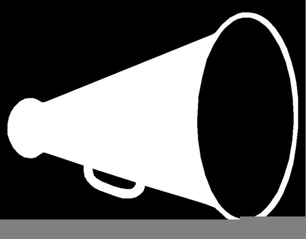 cheer megaphone clipart free images at clkercom