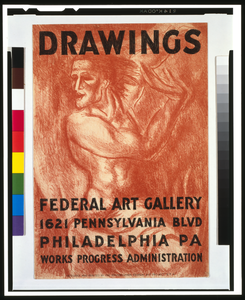 Federal Art Gallery Poster Drawing Image