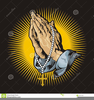 Praying The Rosary Clipart Image