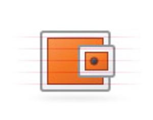 Origami Wallet | Free Images at Clker com - vector clip art