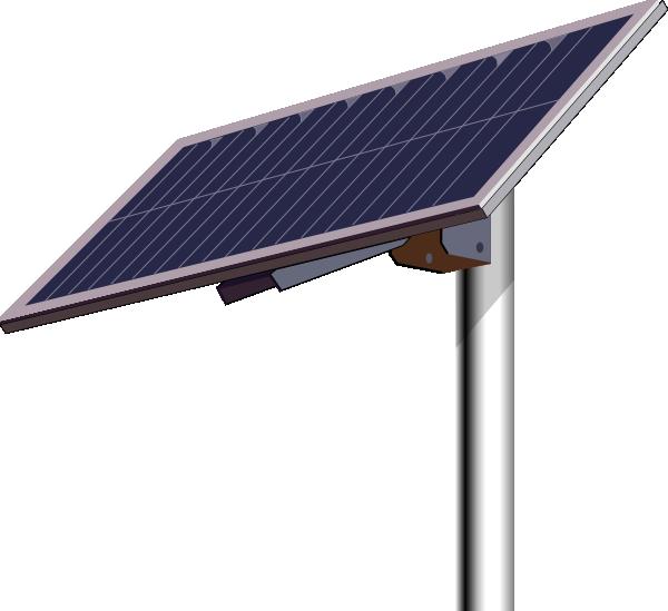 Solar Panel Pole Clip Art at Clker.com - vector clip art online ...