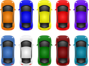 Little Cars Clip Art