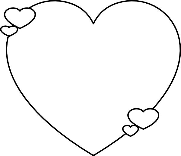 clip art heart template - photo #13