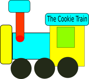 Cookie Train Clip Art