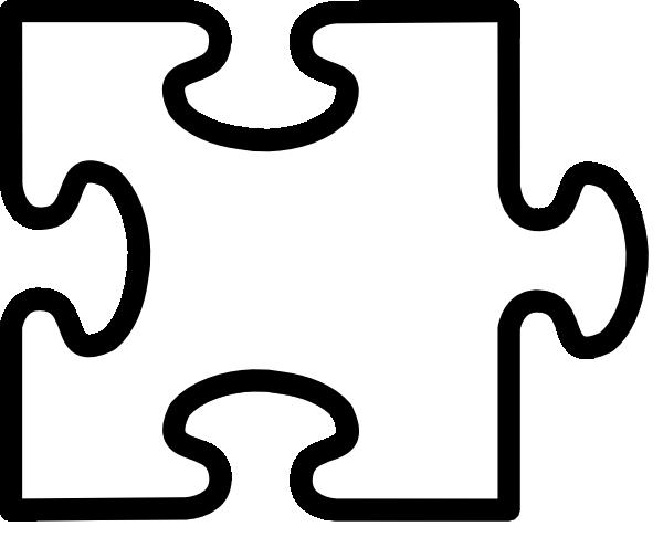 Jigsaw White Puzzel Clip Art at Clker.com - vector clip ...