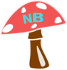 Red Top Mushroom Brown Clip Art