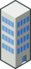 Isocity Blue Tower Ii Clip Art