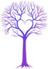 Blue/purple Tree Clip Art