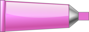 Color Tube Pink Clip Art