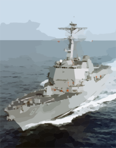 File Photo Of The Guided Missile Destroyer Preble Clip Art
