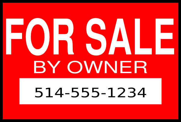 for sale by owner clip art at clker com