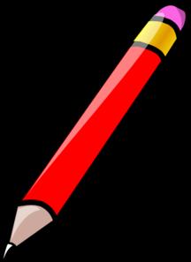 pencil clip art at clker com vector clip art online royalty free rh clker com clipart picture of a pencil clipart of a pencil black and white