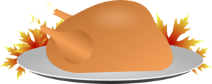 Thanksgiving Turkey Dinner Clip Art