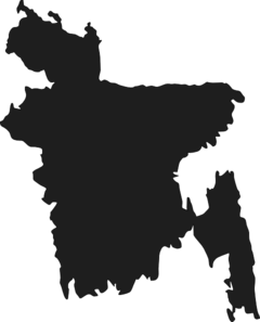 Map Of Bangladesh Clip Art