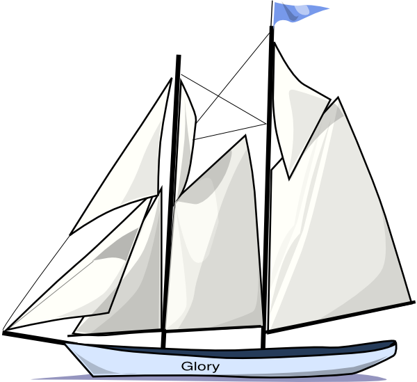 Glory Sailboat Clip Art at Clker.com - vector clip art ...