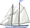 Glory Sailboat Clip Art