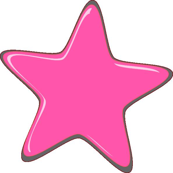 pink star editedr clip art at clker com vector clip art online rh clker com Purple Star Clip Art Blue Star Clip Art