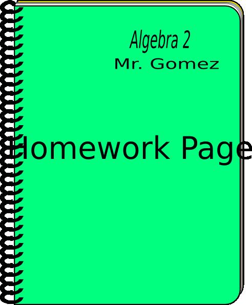 clipart homework book - photo #27