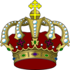 Colorful Crown Clip Art