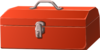 Bag Toolboxe Red Clip Art