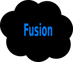 Fusion Cloud Clip Art