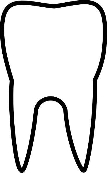 clipart picture of a tooth - photo #10