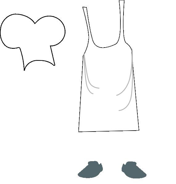 Chef Apron Clipart