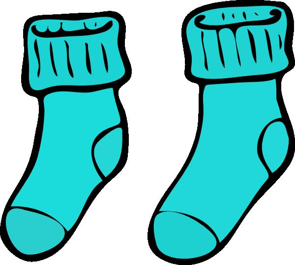 turquoise sock clip art at clker com vector clip art online rh clker com sock clip art black and white sock clip art black and white