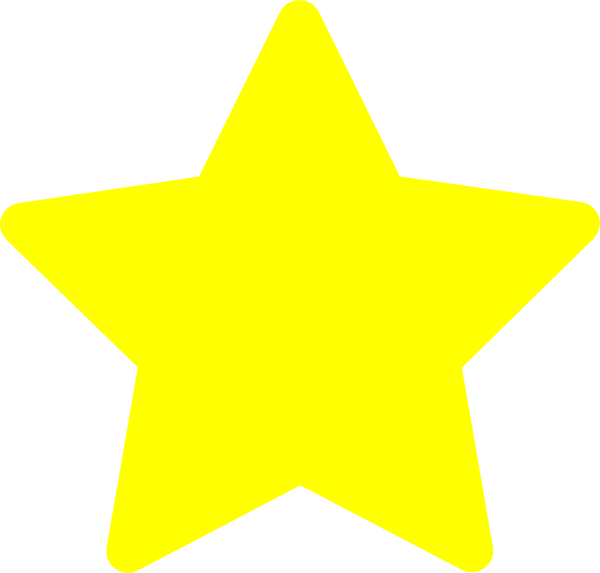 small stars clip art. Lemon Star clip art