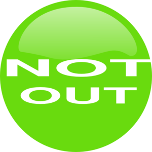 Not Out Clip Art