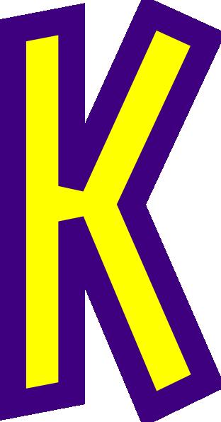 Letter K Clip Art At Clker Com