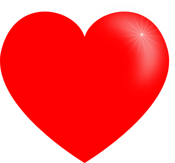 Heart Big Clip Art At Clker Vector Clip Art Online Royalty