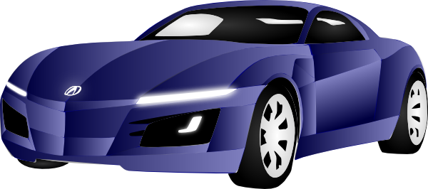 black sports car clipart - photo #39