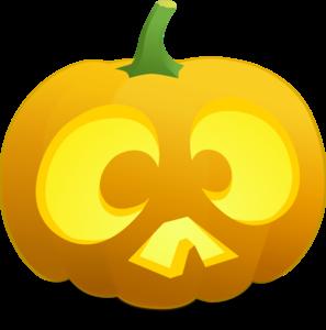 Scared Jack O' Lantern Clip Art at Clker.com - vector clip ...