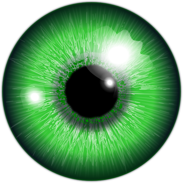 Clipart Eyes Green Eye...