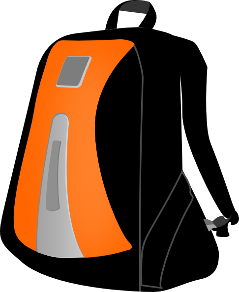 clipart rucksack - photo #2