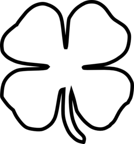 shamrock outline clip art at clker com vector clip art online rh clker com clipart shamrock symbol clipart irish shamrock