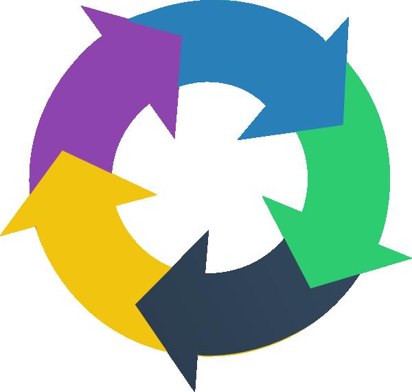 free clipart circular arrow - photo #2
